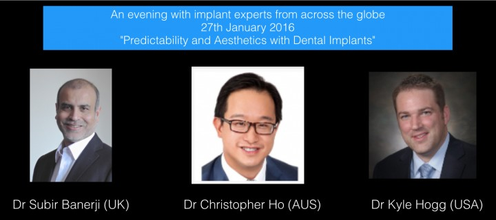 Seminar - Predictability and Aesthetics with Dental Implants